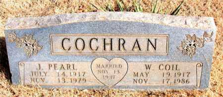 COCHRAN, J. PEARL - Newton County, Arkansas | J. PEARL COCHRAN - Arkansas Gravestone Photos