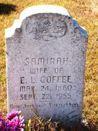 COFFEE, SAMIRAH - Newton County, Arkansas | SAMIRAH COFFEE - Arkansas Gravestone Photos