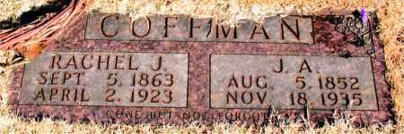 COFFMAN, RACHEL J. - Newton County, Arkansas | RACHEL J. COFFMAN - Arkansas Gravestone Photos