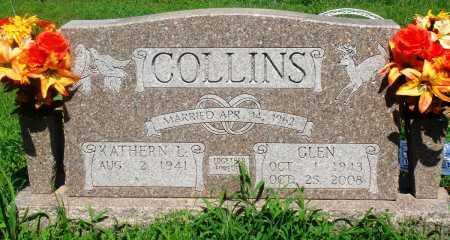 COLLINS, GLEN - Newton County, Arkansas | GLEN COLLINS - Arkansas Gravestone Photos