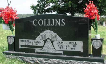 COLLINS, JAMES BELL - Newton County, Arkansas | JAMES BELL COLLINS - Arkansas Gravestone Photos