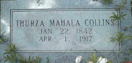 MARTIN COLLINS, THURZA - Newton County, Arkansas | THURZA MARTIN COLLINS - Arkansas Gravestone Photos