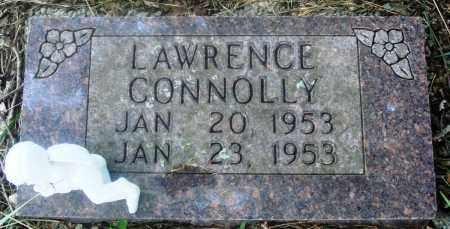 CONNOLLY, LAWRENCE - Newton County, Arkansas | LAWRENCE CONNOLLY - Arkansas Gravestone Photos
