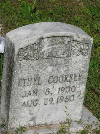 COOKSEY, ETHEL - Newton County, Arkansas | ETHEL COOKSEY - Arkansas Gravestone Photos