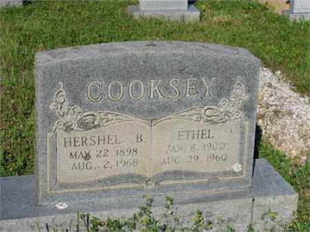 COOKSEY, HERSHEL B. - Newton County, Arkansas   HERSHEL B. COOKSEY - Arkansas Gravestone Photos