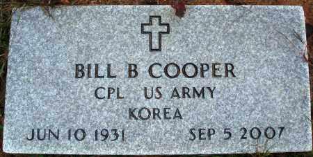 COOPER  (VETERAN KOR), BILL B. - Newton County, Arkansas | BILL B. COOPER  (VETERAN KOR) - Arkansas Gravestone Photos