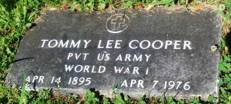 COOPER (VETERAN WWI), TOMMY LEE - Newton County, Arkansas | TOMMY LEE COOPER (VETERAN WWI) - Arkansas Gravestone Photos