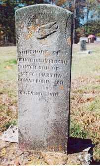 COWAN, BENJAMIN HARRISON - Newton County, Arkansas   BENJAMIN HARRISON COWAN - Arkansas Gravestone Photos
