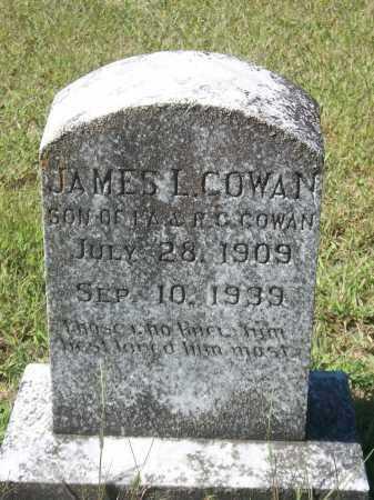 COWAN, JAMES L. - Newton County, Arkansas | JAMES L. COWAN - Arkansas Gravestone Photos