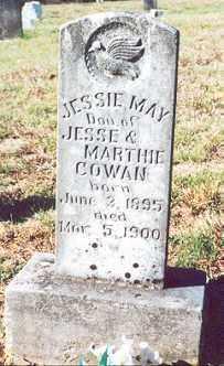 COWAN, JESSIE MAY - Newton County, Arkansas   JESSIE MAY COWAN - Arkansas Gravestone Photos