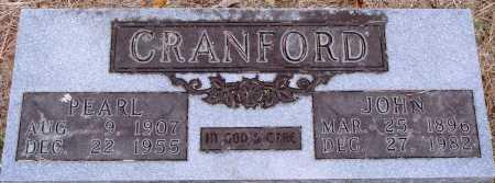 CRANFORD, JOHN - Newton County, Arkansas | JOHN CRANFORD - Arkansas Gravestone Photos