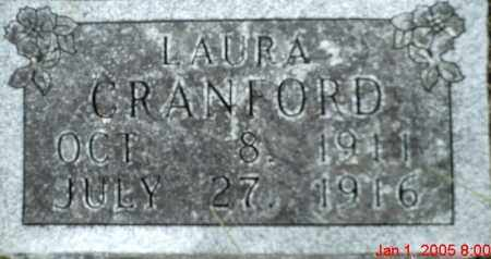 CRANFORD, LAURA - Newton County, Arkansas | LAURA CRANFORD - Arkansas Gravestone Photos