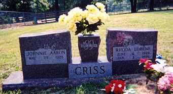 CRISS, RHODA LORENE - Newton County, Arkansas | RHODA LORENE CRISS - Arkansas Gravestone Photos