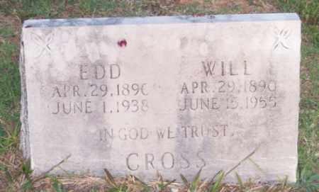 CROSS, WILL - Newton County, Arkansas   WILL CROSS - Arkansas Gravestone Photos