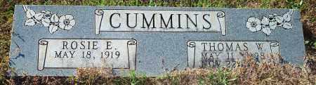 CUMMINS, THOMAS W. - Newton County, Arkansas | THOMAS W. CUMMINS - Arkansas Gravestone Photos