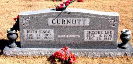 CURNUTT, SIGSBEE LEE - Newton County, Arkansas | SIGSBEE LEE CURNUTT - Arkansas Gravestone Photos