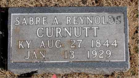 CURNUTT, SABRE A. - Newton County, Arkansas | SABRE A. CURNUTT - Arkansas Gravestone Photos