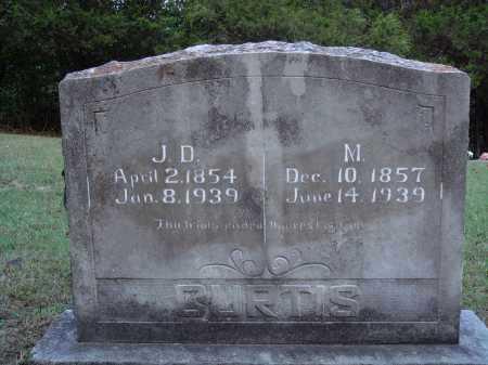 CURTIS, MAHALIA - Newton County, Arkansas | MAHALIA CURTIS - Arkansas Gravestone Photos