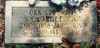 CURTIS, ORA SUE - Newton County, Arkansas | ORA SUE CURTIS - Arkansas Gravestone Photos