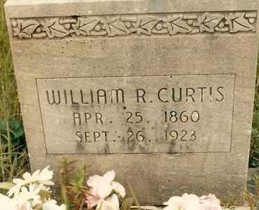 CURTIS, WILLIAM R. - Newton County, Arkansas | WILLIAM R. CURTIS - Arkansas Gravestone Photos