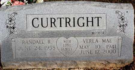 CURTRIGHT, VERLA MAE - Newton County, Arkansas | VERLA MAE CURTRIGHT - Arkansas Gravestone Photos