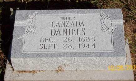 DANIELS, CANZADA TAYLOR - Newton County, Arkansas | CANZADA TAYLOR DANIELS - Arkansas Gravestone Photos