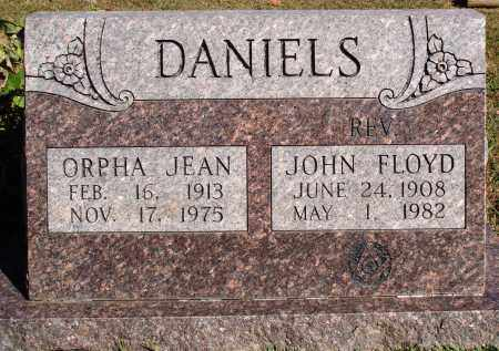 DANIELS, ORPHA JEAN - Newton County, Arkansas   ORPHA JEAN DANIELS - Arkansas Gravestone Photos