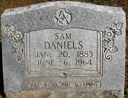 DANIELS, SAM - Newton County, Arkansas | SAM DANIELS - Arkansas Gravestone Photos