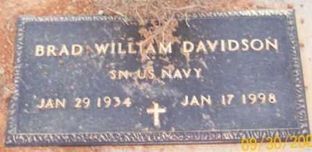 DAVIDSON  (VETERAN), BRAD WILLIAM - Newton County, Arkansas | BRAD WILLIAM DAVIDSON  (VETERAN) - Arkansas Gravestone Photos