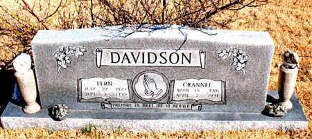DAVIDSON, CRANNEL - Newton County, Arkansas | CRANNEL DAVIDSON - Arkansas Gravestone Photos
