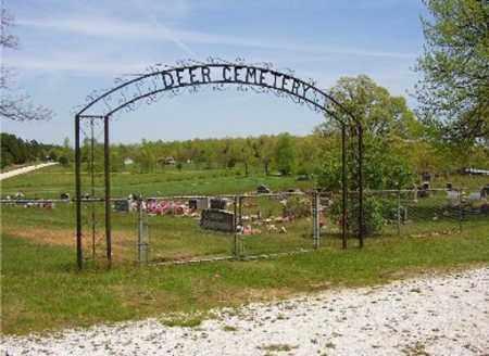 *DEER CEMETERY ENTRANCE,  - Newton County, Arkansas    *DEER CEMETERY ENTRANCE - Arkansas Gravestone Photos