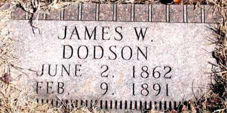 DODSON, JAMES W. - Newton County, Arkansas | JAMES W. DODSON - Arkansas Gravestone Photos