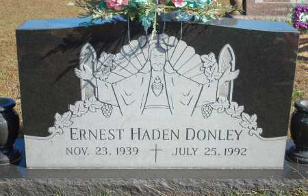 DONLEY, ERNEST HADEN - Newton County, Arkansas   ERNEST HADEN DONLEY - Arkansas Gravestone Photos
