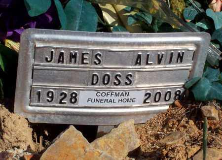 DOSS, JAMES ALVIN - Newton County, Arkansas | JAMES ALVIN DOSS - Arkansas Gravestone Photos
