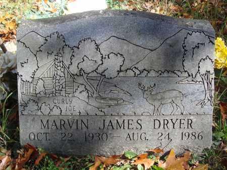 DRYER, MARVIN JAMES - Newton County, Arkansas | MARVIN JAMES DRYER - Arkansas Gravestone Photos