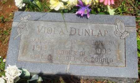 DUNLAP, VIOLA - Newton County, Arkansas   VIOLA DUNLAP - Arkansas Gravestone Photos