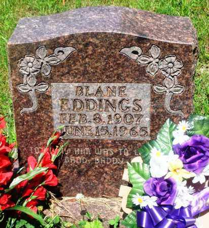EDDINGS, BLANE - Newton County, Arkansas | BLANE EDDINGS - Arkansas Gravestone Photos