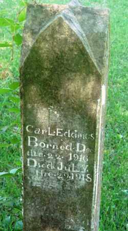 EDDINGS, CARL - Newton County, Arkansas | CARL EDDINGS - Arkansas Gravestone Photos