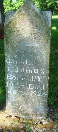 EDDINGS, CARREL - Newton County, Arkansas | CARREL EDDINGS - Arkansas Gravestone Photos