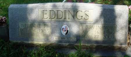 EDDINGS, ERVIN W - Newton County, Arkansas | ERVIN W EDDINGS - Arkansas Gravestone Photos