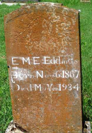 "EDDINGS, EMILINE ""EME"" - Newton County, Arkansas 