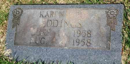 EDDINGS, KAREN LOU - Newton County, Arkansas | KAREN LOU EDDINGS - Arkansas Gravestone Photos