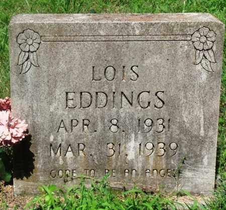 EDDINGS, LOIS - Newton County, Arkansas | LOIS EDDINGS - Arkansas Gravestone Photos