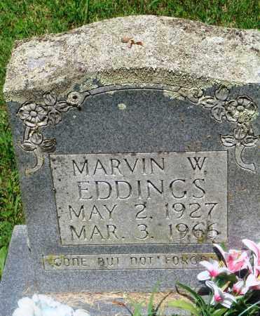 EDDINGS, MARVIN W - Newton County, Arkansas | MARVIN W EDDINGS - Arkansas Gravestone Photos