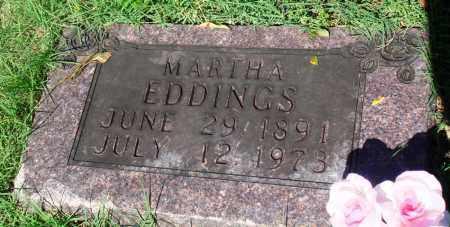 EDDINGS, MARTHA - Newton County, Arkansas   MARTHA EDDINGS - Arkansas Gravestone Photos