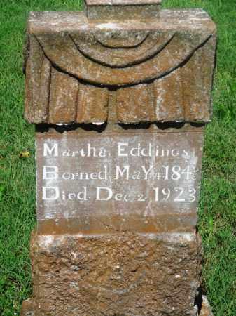 EDDINGS, MARTHA - Newton County, Arkansas | MARTHA EDDINGS - Arkansas Gravestone Photos
