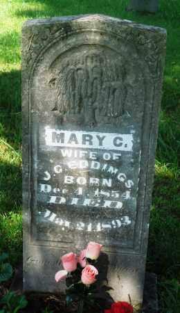 EDDINGS, MARY CANZADA - Newton County, Arkansas | MARY CANZADA EDDINGS - Arkansas Gravestone Photos