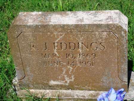 "EDDINGS, R J ""JOBE"" - Newton County, Arkansas   R J ""JOBE"" EDDINGS - Arkansas Gravestone Photos"