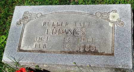 EDDINGS, RULLER TAFT - Newton County, Arkansas   RULLER TAFT EDDINGS - Arkansas Gravestone Photos