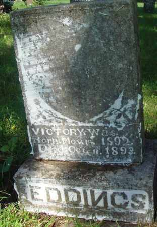 EDDINGS, VICTORY - Newton County, Arkansas | VICTORY EDDINGS - Arkansas Gravestone Photos